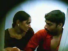 Indian Couple Are Having Sex In The Internet Cafe