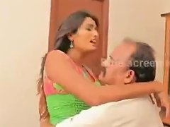 Old Indian Men Romancing With Young Girls Compilation