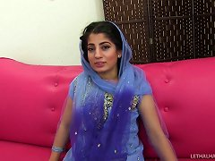 Conservative Pakistani Woman Lusts Over A Black Guy's Big Dick