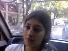 Indian Glamorous Cute Excellent Baby Breast Feed And Give Oral Job To BF In Car