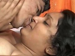 Skinny Guy Kisses And Teases Chubby His Indian Girlfriend
