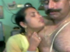 Chubby Dark Skinned Desi Wifey Gets Hammered From Behind By Hubby