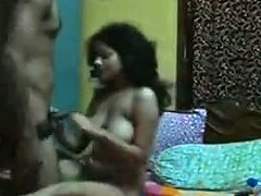 Natural Indian Gf Is Mouthfucked And Fingered By Her Lewd Bf
