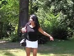 Uk Indian Babe Gives Outdoor Footjob HD Txxx Com