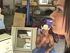 Indian Beauty Fucked By A Black Man In A Garage Porn B7